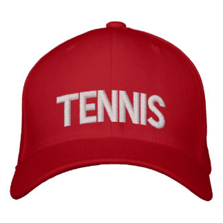 Tennis Embroidered Cap ... aaaaxchcvhbcvx