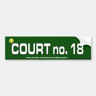Tennis Epic Bumper Sticker