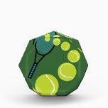 """Tennis FAN SLICE SERVE Acrylic Award<br><div class=""""desc"""">NEW DESIGN FOR TENNIS FANS &quot;SLICE SERVE&quot; SUMMER 2014.</div>"""