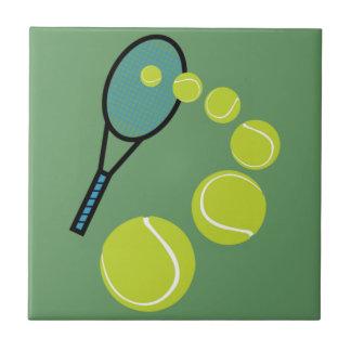 Tennis FAN SLICE SERVE Ceramic Tile