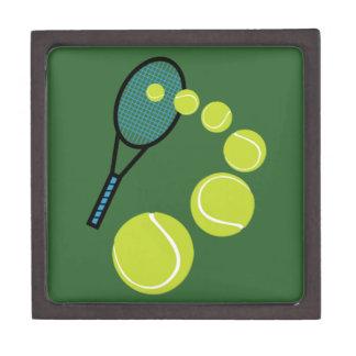 Tennis FAN SLICE SERVE Keepsake Box