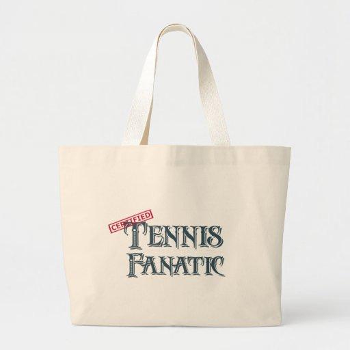 Tennis Fanatic Canvas Bag