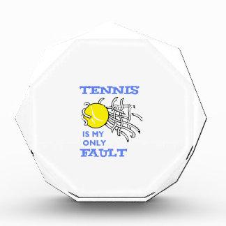 TENNIS FAULT AWARDS