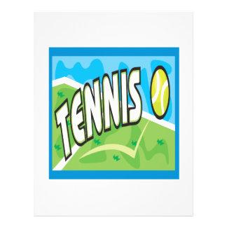Tennis Custom Flyer