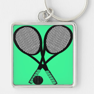 TENNIS FOR TWO KEYCHAIN
