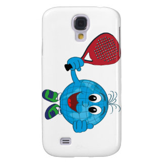 tennis founds ball of the world playing padel samsung s4 case