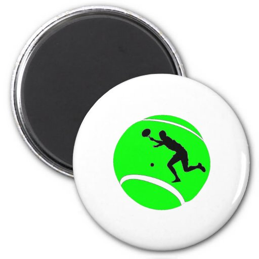 Tennis Fridge Magnet