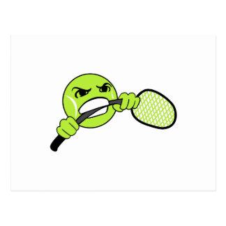 TENNIS FRUSTRATION POSTCARDS