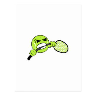 TENNIS FRUSTRATION POSTCARD