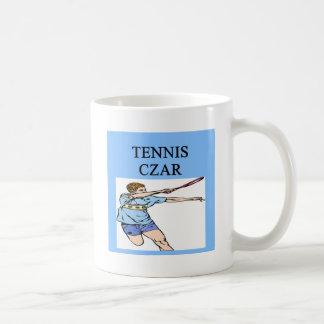 TENNIS game joke Classic White Coffee Mug