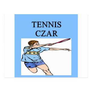 TENNIS game joke Postcard