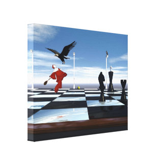 Tennis Game Wrapped Canvas Gallery Wrapped Canvas