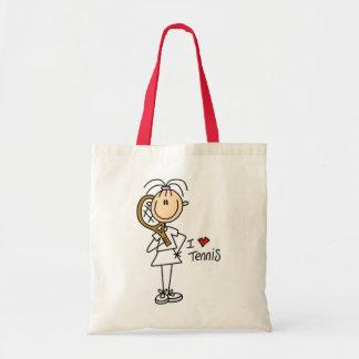 Tennis Gift Budget Tote Bag