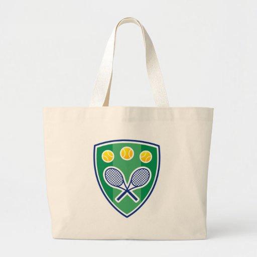 Tennis gift canvas bag