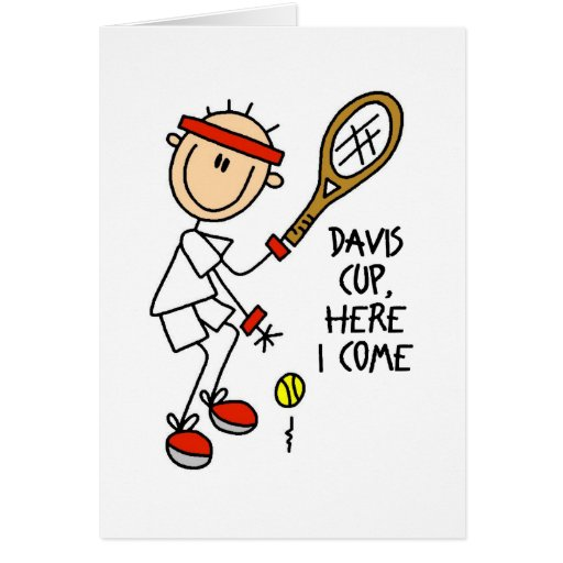 Tennis Gift Greeting Cards