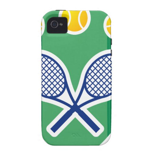 Tennis gift vibe iPhone 4 case