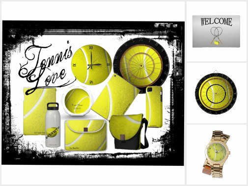 Tennis Gifts and Home Decor