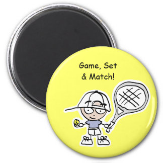Tennis Gifts & Cards for special tennis players Magnet
