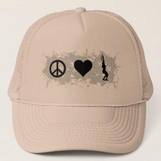 Tennis Girl 1 Trucker Hat