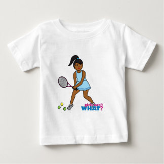 Tennis Girl Baby T-Shirt