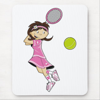 Tennis Girl Mousepad
