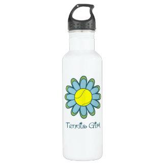 Tennis Girl Stainless Steel Water Bottle
