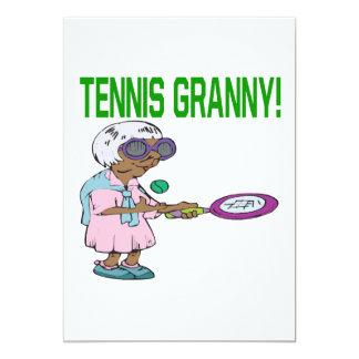 Tennis Granny Card