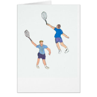 TENNIS GUYS CARD