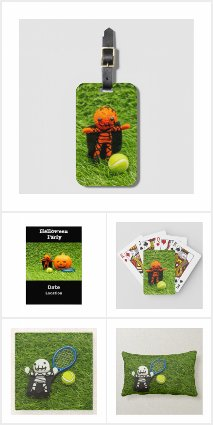 Tennis Halloween Gift Ideas and Party Supplies