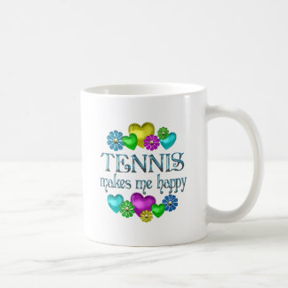 Tennis Happiness Coffee Mug