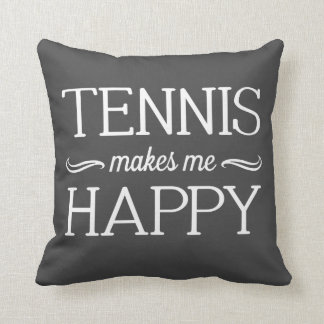 Tennis Happy Pillow - Assorted Styles & Colors