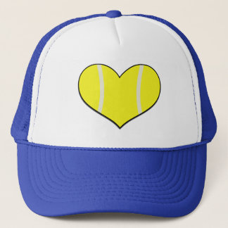 Tennis Heart Cap