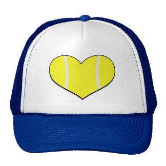 Tennis Heart Cap Trucker Hat