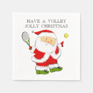 Tennis Holidays Napkin