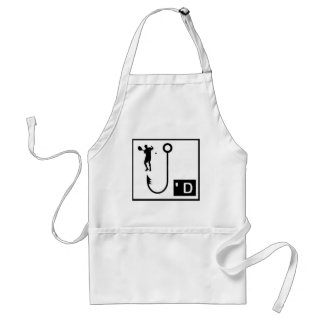 Tennis Hooked Adult Apron