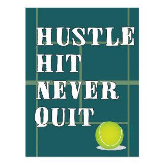 Tennis Hustle Postcard