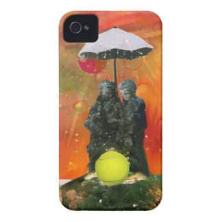 Tennis in a fountain Case-Mate iPhone 4 case