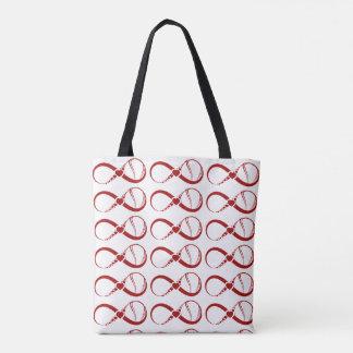 Tennis Infinite Love Tote Bag