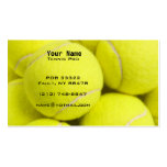 Tennis Instruction Business Cards