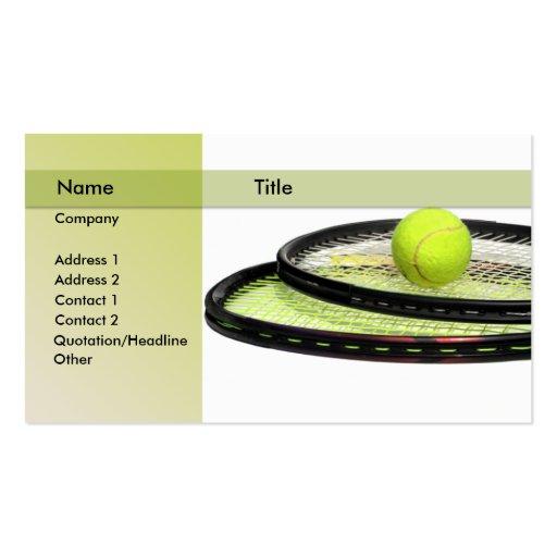 Tennis player business cards bizcardstudio tennis instructor business cards colourmoves