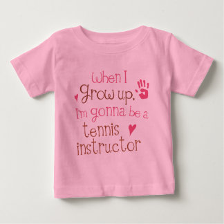 Tennis Instructor (Future) Infant Baby T-Shirt
