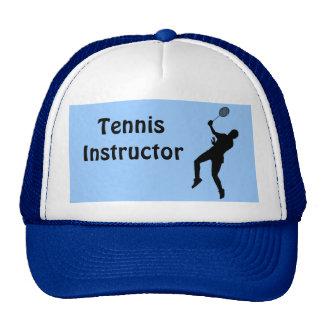 Tennis instructor trucker hat