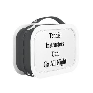 Tennis Instructors Can Go All Night Yubo Lunchbox