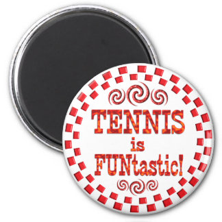 Tennis is FUNtastic Magnets