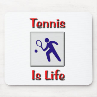 Tennis Is Life Mouse Pads