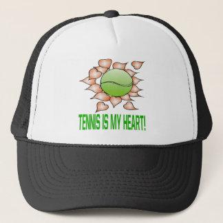 Tennis Is My Heart Trucker Hat