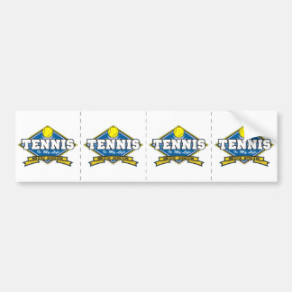 Tennis is My Life Bumper Sticker