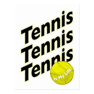Tennis is My Life Postcard