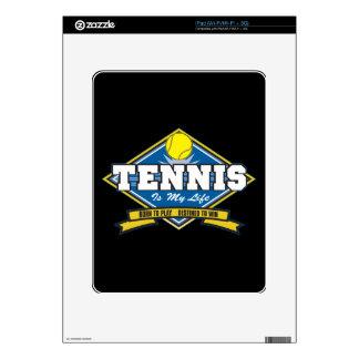 Tennis is My Life iPad Decals