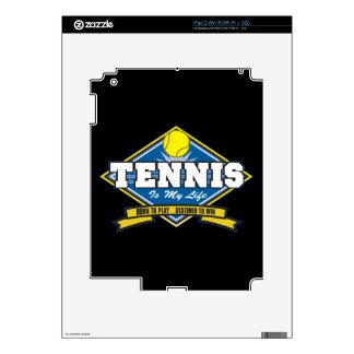 Tennis is My Life Skin For iPad 2